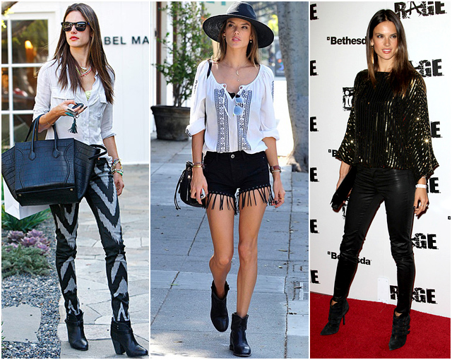 alessandra-ambrosio-black-boots-booties
