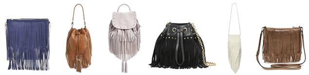coachella - fringe bags